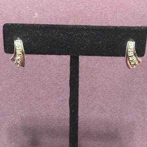 Small blingy post earrings.  2/$10 Sale